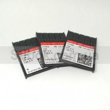 Иглы Groz-Beckert DPx5 134  толстая колба (10шт/уп)